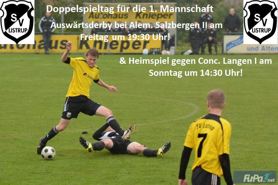 Homepage Doppelspieltag