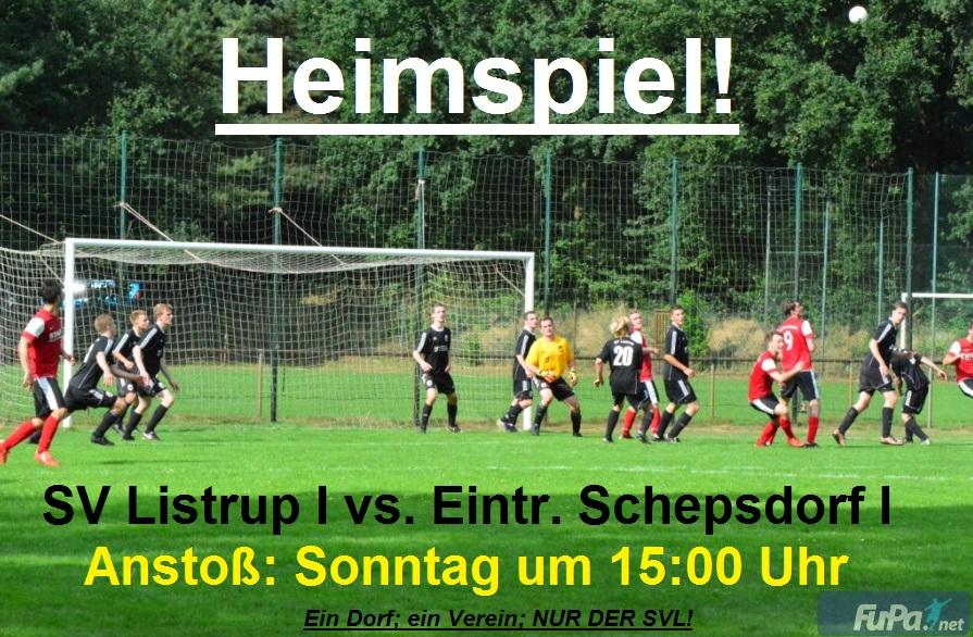 Schepsdorf SVL Spielvorschau