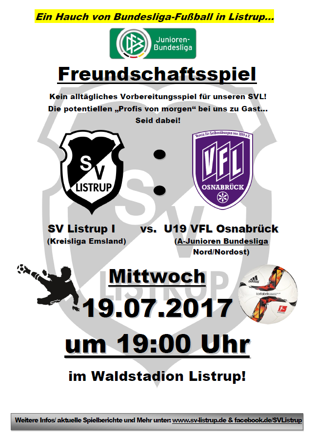 Testspiel Osna SVL U19